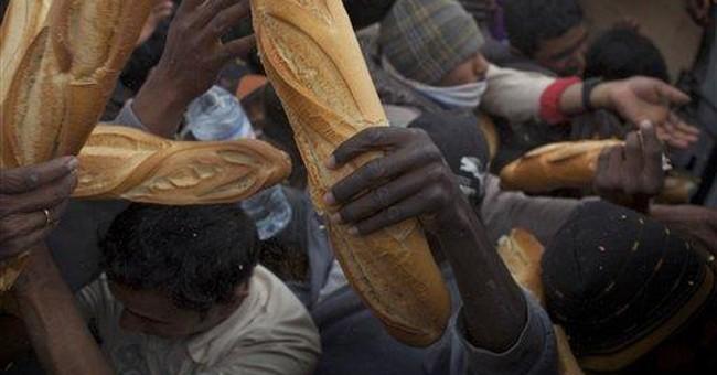 Libya repatriation is straining aid agencies