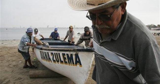 Tsunami swells reach Mexican resorts