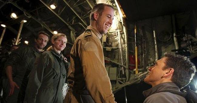 3 Dutch marines freed by Libya arrive home