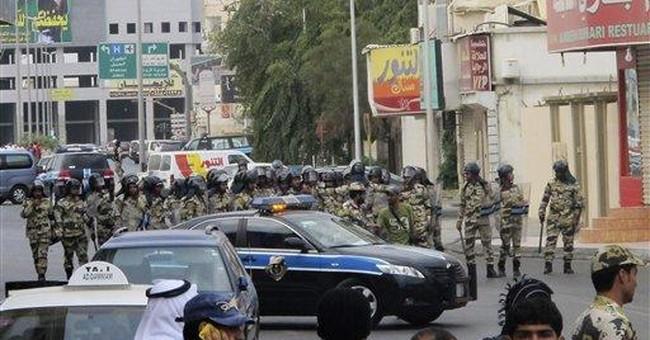 As protests roil neighbors, Saudis quash rallies
