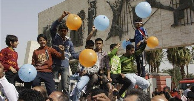 PM: Protesters are out of step with Iraq's will