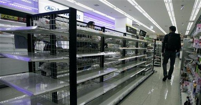 Panic buying adds to shortages after Japan quake