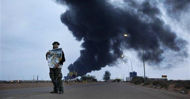 Libya seeks Italy's help with fire at oil facility