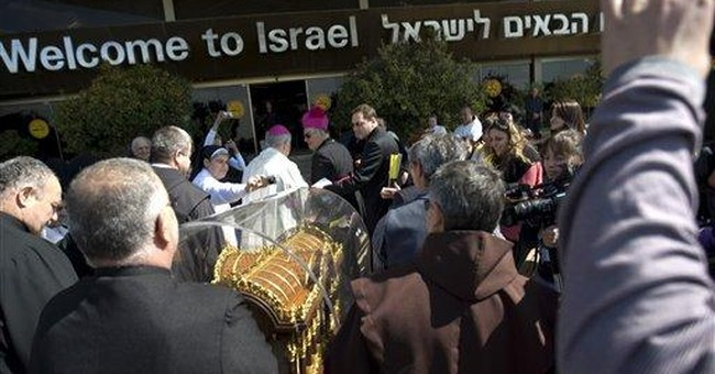19th century nun's relics to tour Israel