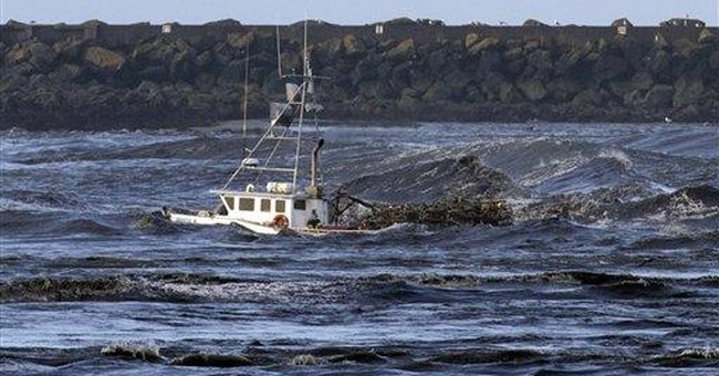 Calif. port town attracts tsunamis: 34 since '34