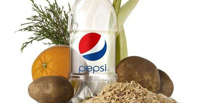 PepsiCo unveils 100 percent plant-based bottle