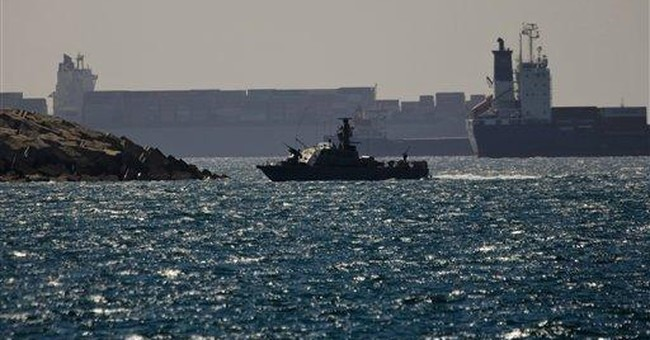 Israeli navy intercepts Egypt-bound ship with arms