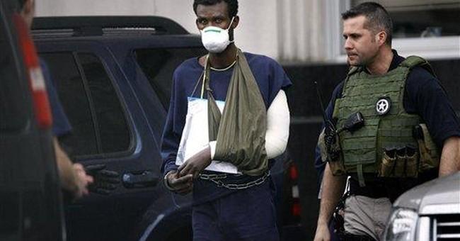 14 suspected pirates plead not guilty in Va. court