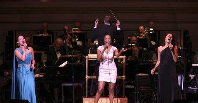 Garland's daughter sings for Mom at Carnegie Hall