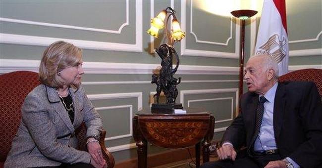 Clinton: Egypt revolution must produce democracy