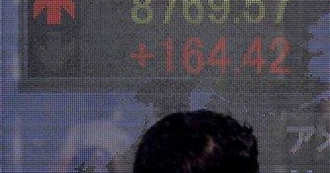 Japanese stocks open down; Nikkei off 3.6 percent