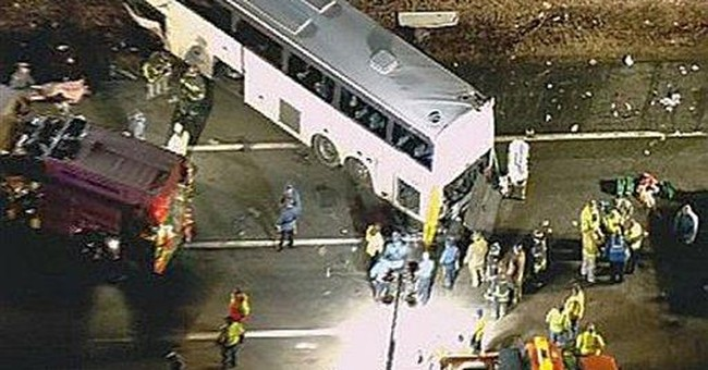 Bus in fatal NJ Turnpike crash flagged for safety