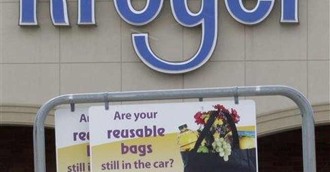 Some grocers abandon rebates for reusable bags