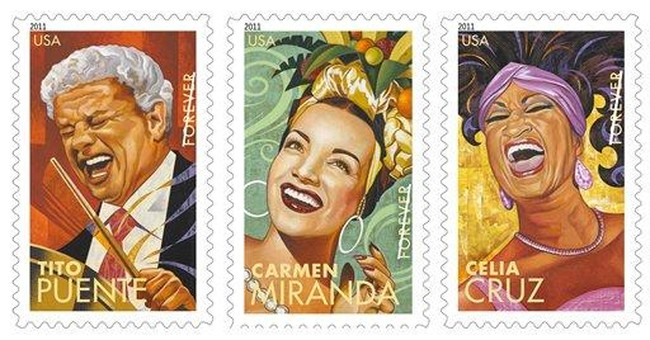New postage stamps honor Latin music