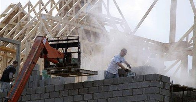 New-home construction plunges in February