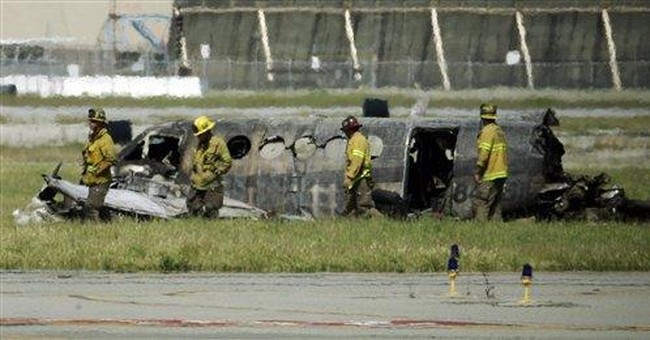 5 dead in plane crash at Long Beach airport in CA