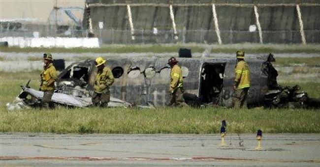 Cause of Long Beach, Calif. plane crash probed