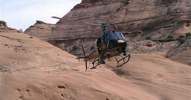 Climber survives for 6 days in remote Utah canyon