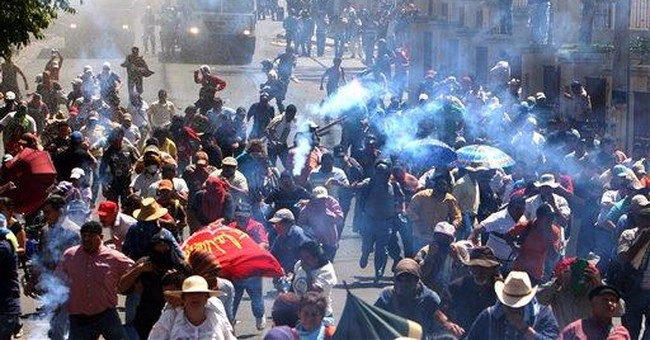 1 dead, 2 injured in protests by Honduras teachers