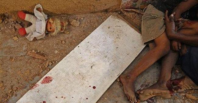 5th child victim killed in Mexico drug violence