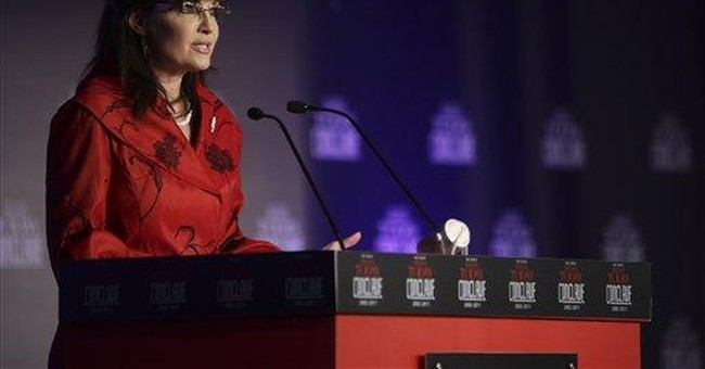 Palin warns of China's rise in visit to India