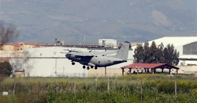 Military buildup for Libya mounts at Italian bases