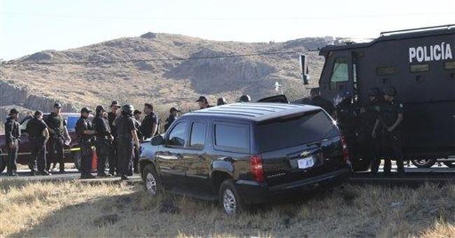 US law enforcement role in Mexico drug war surges