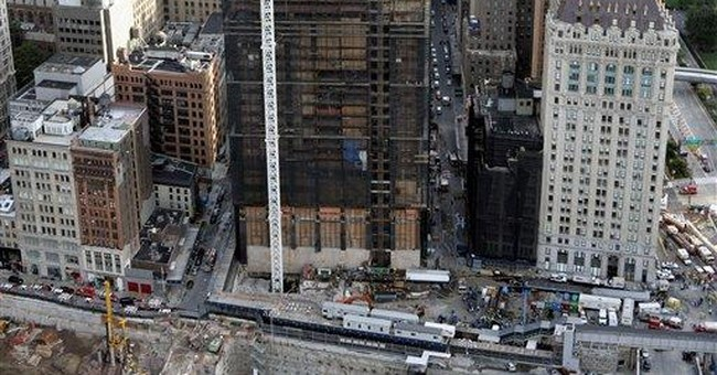 Finally gone, ground zero tower in focus at trial