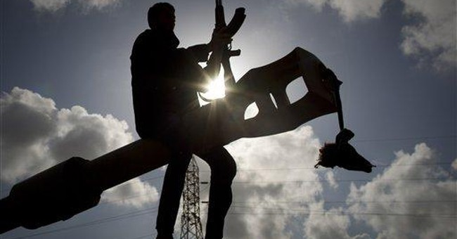 Joy in Libyan rebel stronghold after allied attack