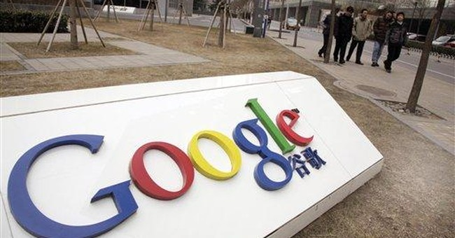 Google says China blocking its email services