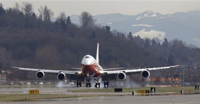 Boeing completes 1st flight of new passenger jet