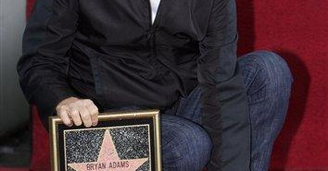 Canadian singer Bryan Adams gets Hollywood star