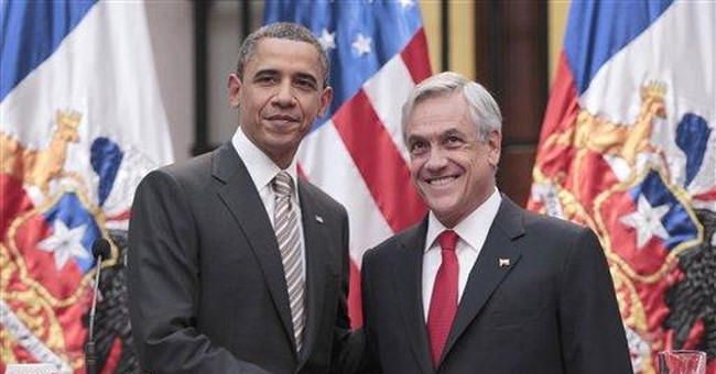 Obama says US ready to help Chile in rights cases