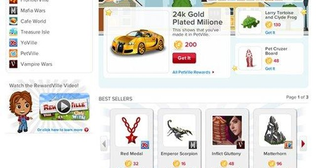 With rewards, Zynga hopes to get you (more) hooked