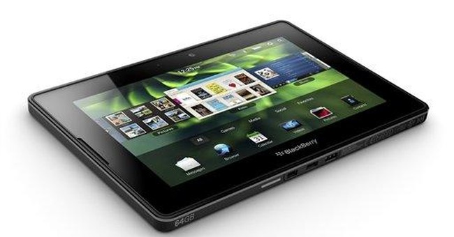BlackBerry PlayBook starts at $499, same as iPad 2
