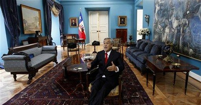 AP Interview: Chile president to ask for CIA files