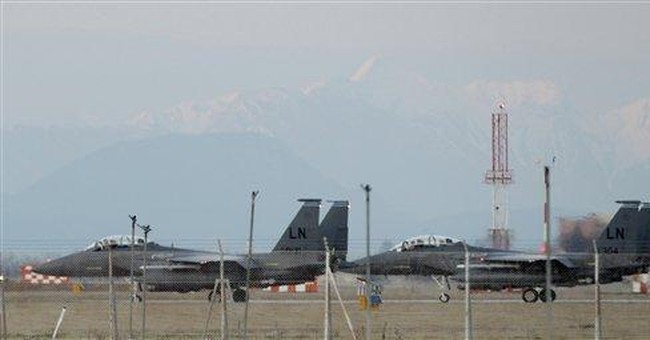 US jet crashes in Libya, both crew are safe