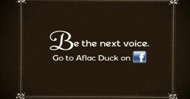 Aflac seeks new voice for its duck
