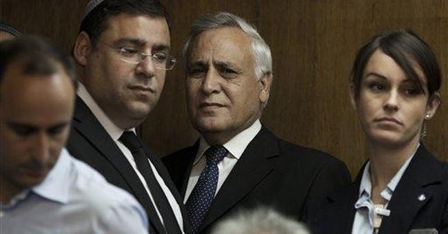 Ex-Israeli president sentenced to 7 years for rape