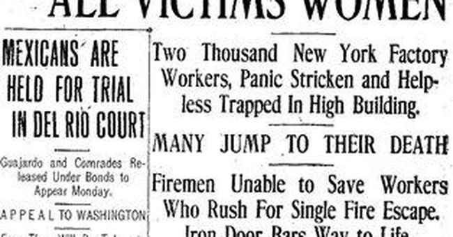 NYC marks 100th anniversary of deadly factory fire