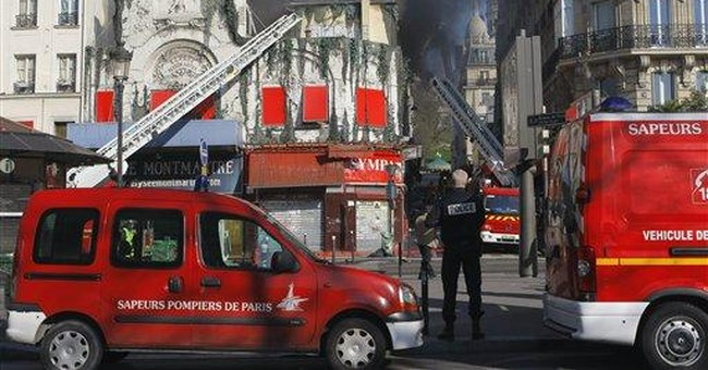 Fire rips through 200-year-old Paris dance hall
