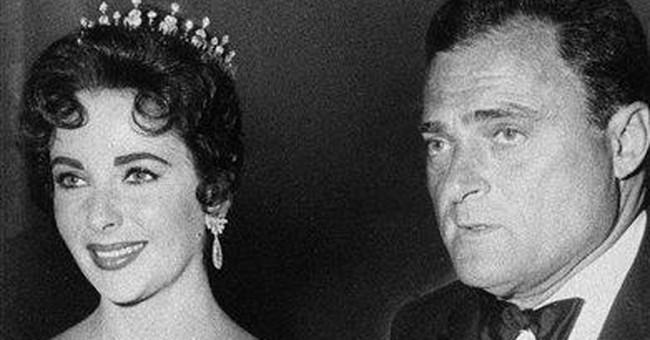 Elizabeth Taylor was prolific as a bride