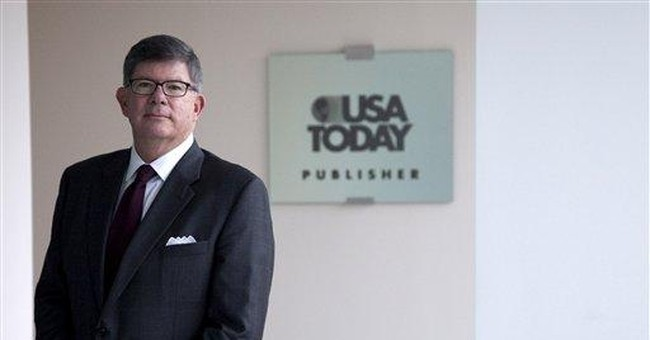 USA Today rewrites strategy to cope with Internet