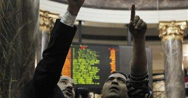 Egypt stock market climbs for 3rd day