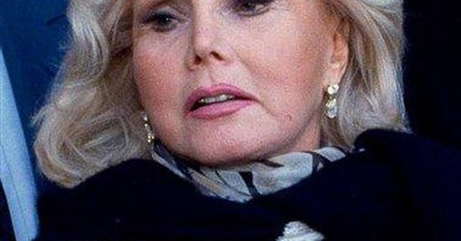 Zsa Zsa Gabor hospitalized after Liz Taylor death