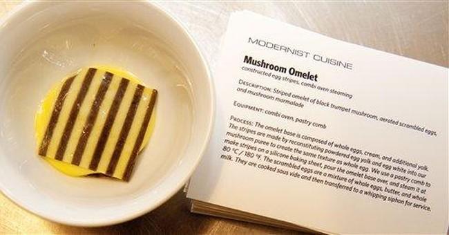 """Modernist Cuisine"" _ 2,438 pages, 6 volumes, $625"