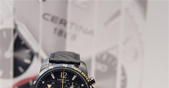 Watchmakers compete for the young, old and rich