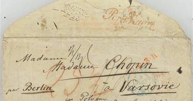 Museum gets long-lost Chopin letters