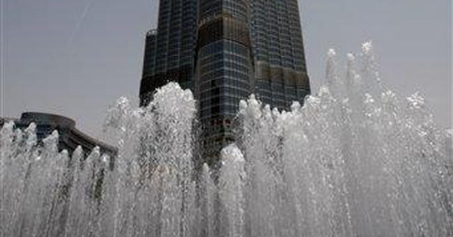 Frenchman climbs world's tallest tower