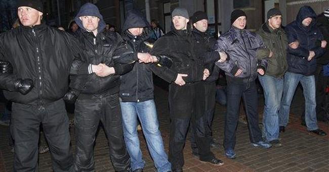 Police prevent opposition rally in Belarus